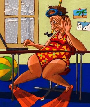 Ferien online buchen, Beobachter